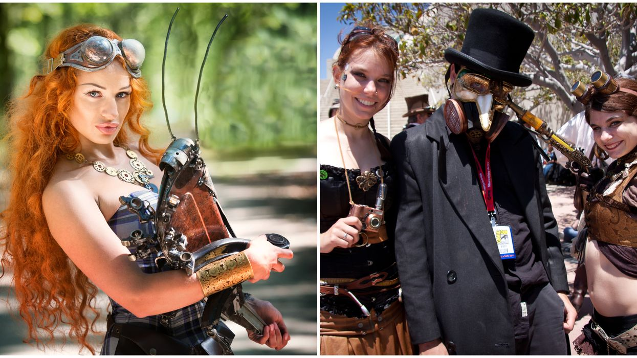 A Massive Steampunk Festival Is Happening In Florida This Month
