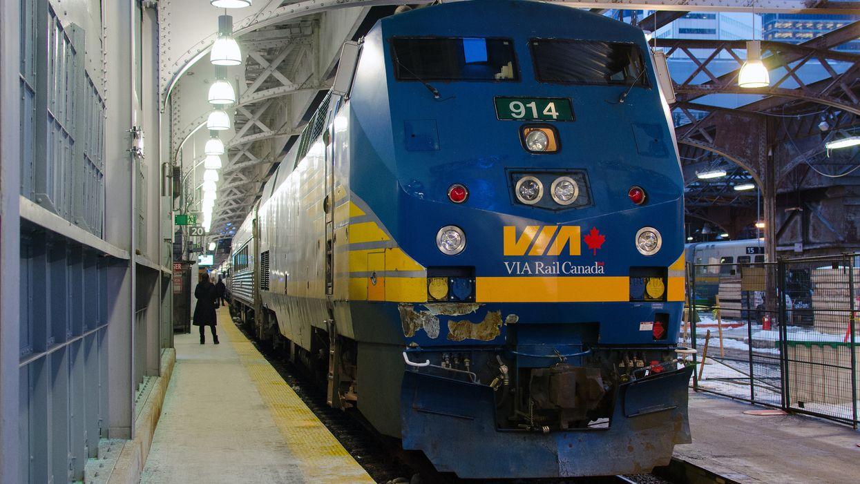 Un train méga rapide pourrait t'amener de Québec à Toronto en beaucoup moins de temps