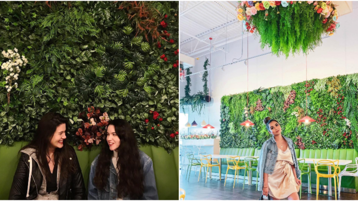 This Floral Coffee Spot In Houston Will Make You Feel Like You're In A Jungle Wonderland