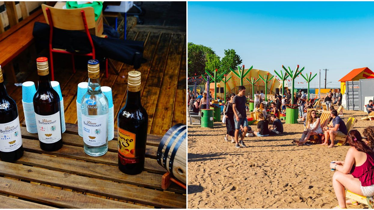 Tu peux aller déguster du rhum gratuitement sur la plage à ce festival tropical de Montréal ce week-end