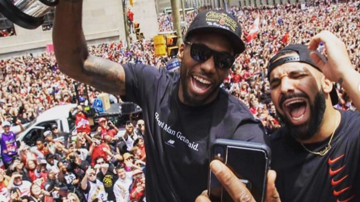 Drake Was Seen Wearing Raptors Merch Weeks After The Final Game