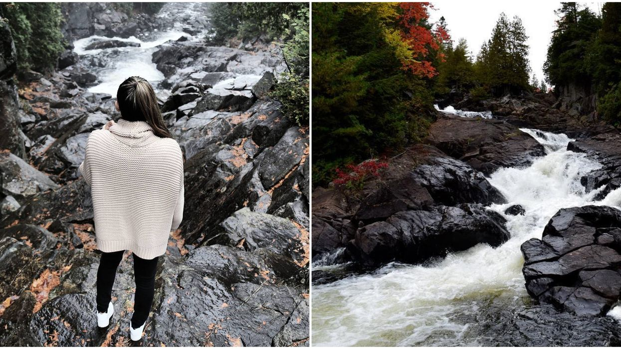 This Short 1 Km Hike Leads You To A Small But Powerful Waterfall In Ontario