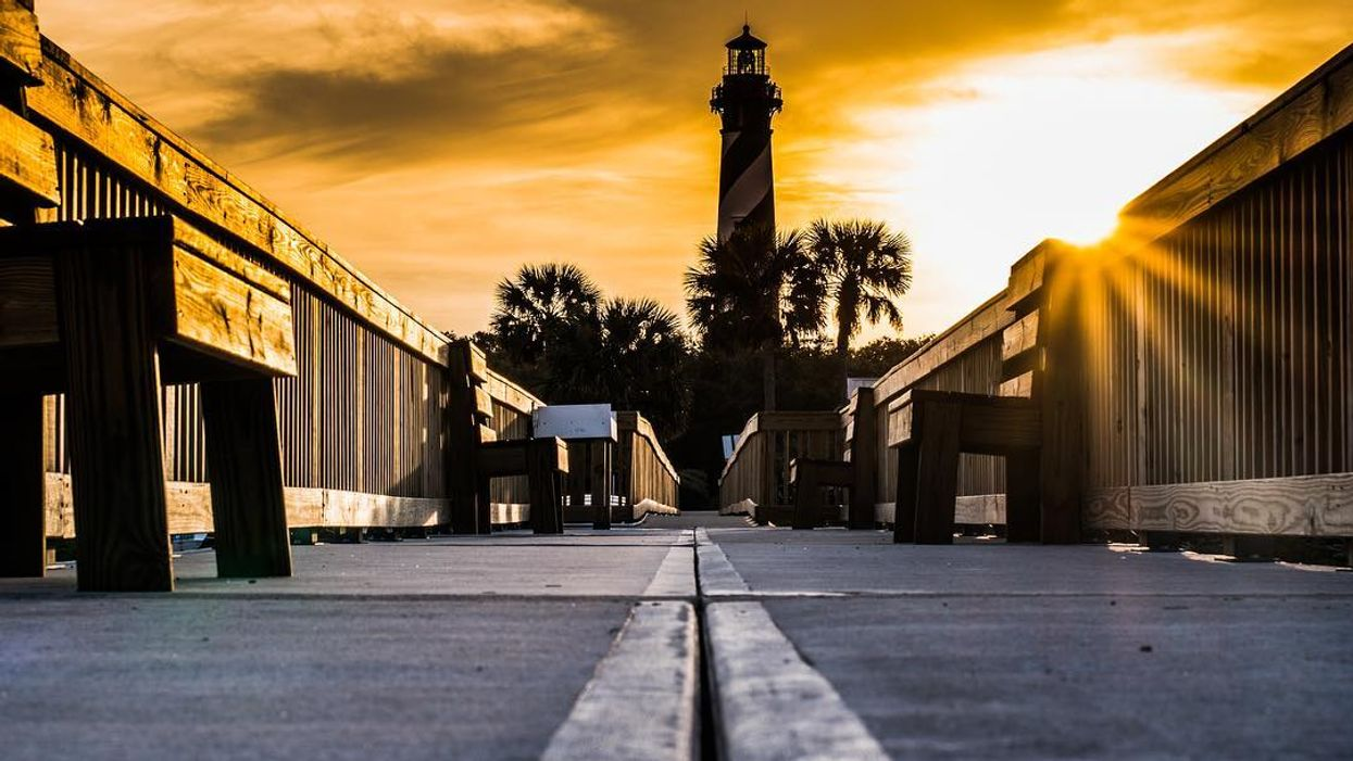This Florida Lighthouse Is One Of 'The Most Haunted Places In America' And You Can Actually Ghost Hunt In It