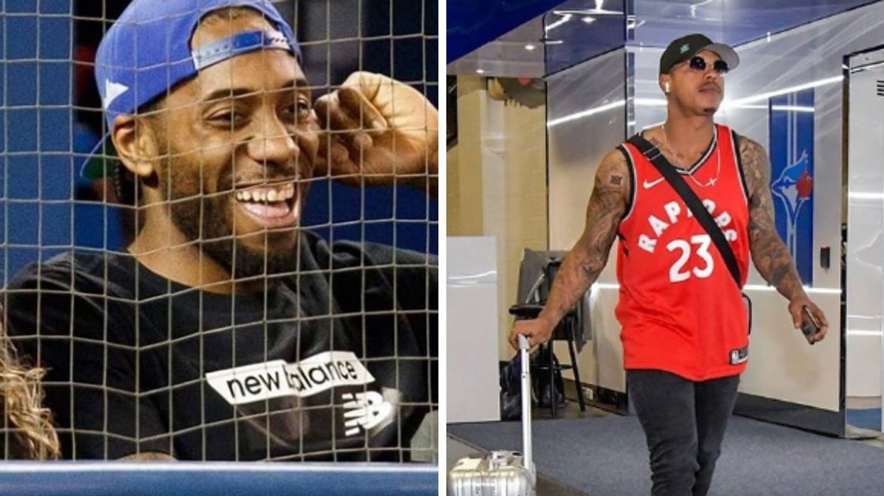 Stroman's Response To Kawhi's Vacation Outfit Proves That Toronto Teams Have The Best Bromance