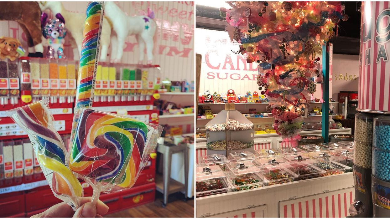 This Dreamy Candy Shop Near Austin Has All Of Your Childhood Favorites And More