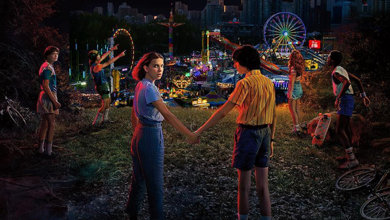 A 'Stranger Things' Themed Fun House Is Coming To The 2019 Calgary Stampede
