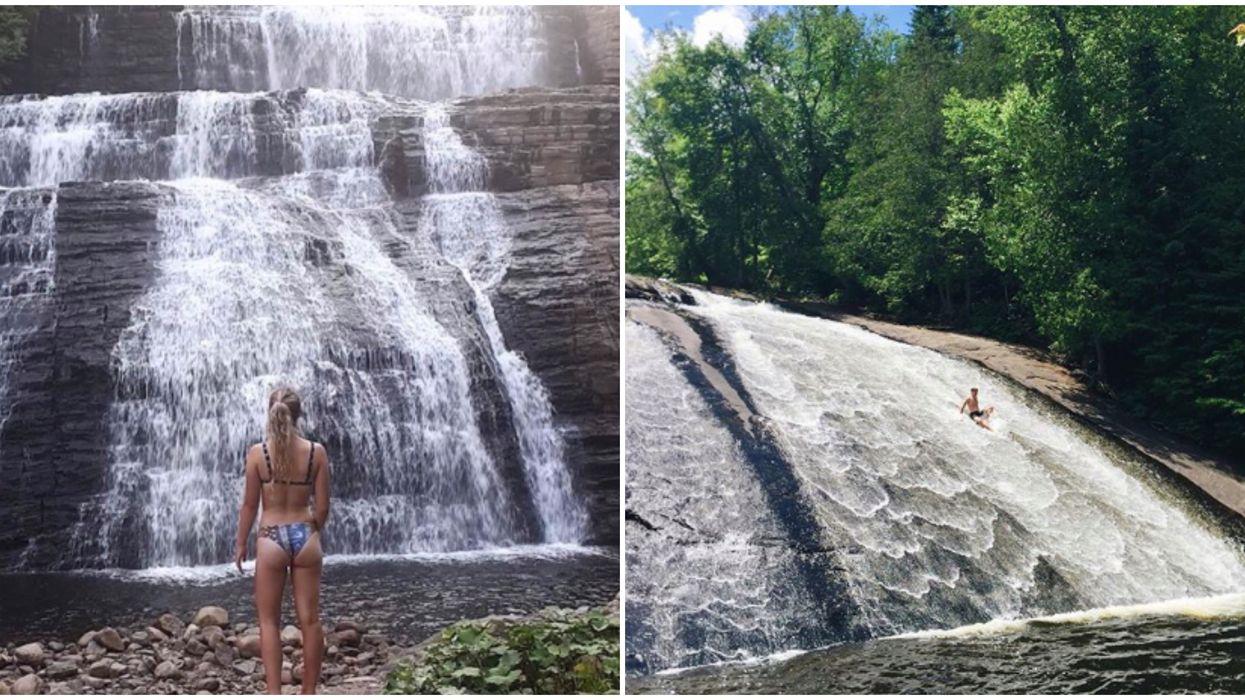 13 magnifiques chutes dans lesquelles tu voudras te baigner à moins de 5 heures de Montréal