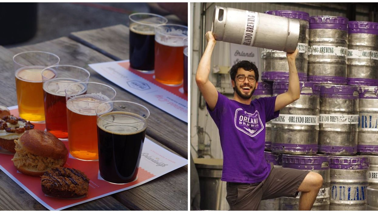 Escape The Heat And Take A Free Tour At This Huge Organic Brewing Company In Orlando