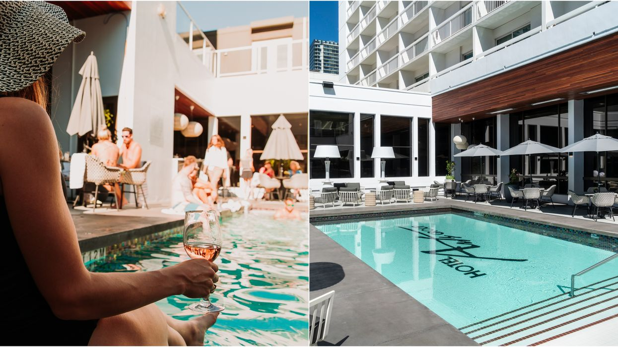This Incredible Poolside Patio In Calgary Is Officially Open For The Summer