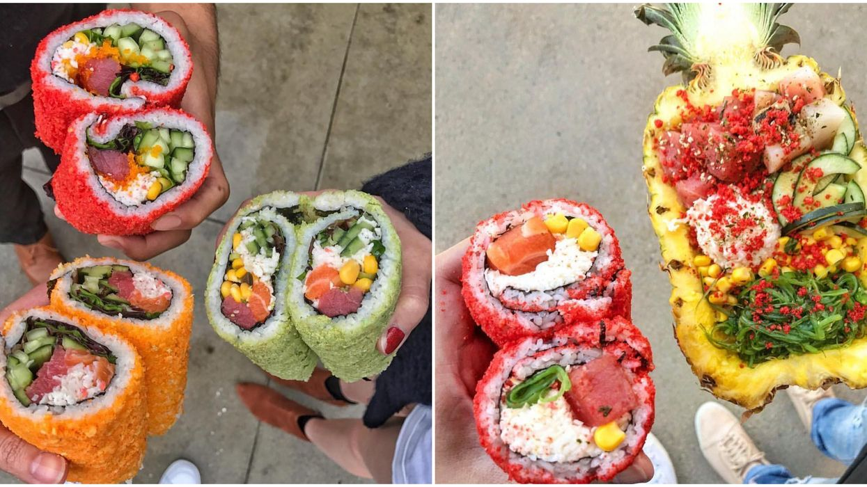 This Wild Poke Joint In Addison Has The Most Delicious Sushi Creations
