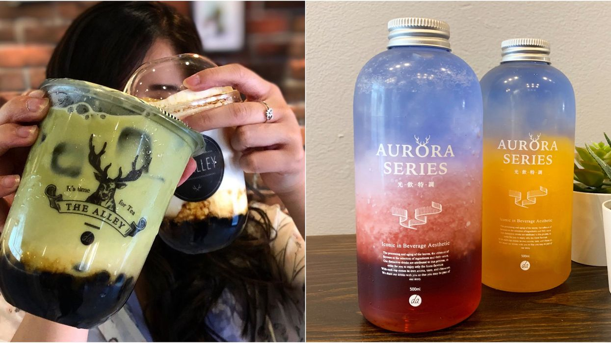 You Can Finally Get The Alley Bubble Tea In Calgary Just In Time For The Summer