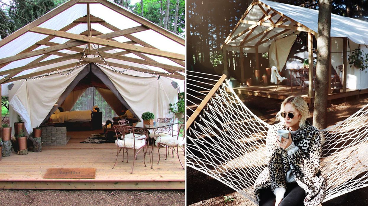 You Can Go Glamping At This Adorable Glamp Site Less Than 1 Hour From Toronto