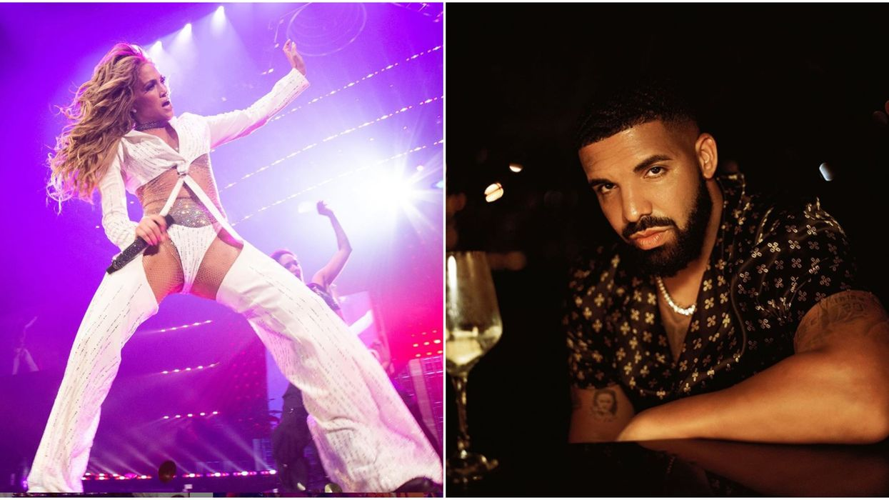 Drake Was Spotted At His Ex-Girlfriend JLo's Concert In Toronto Last Night