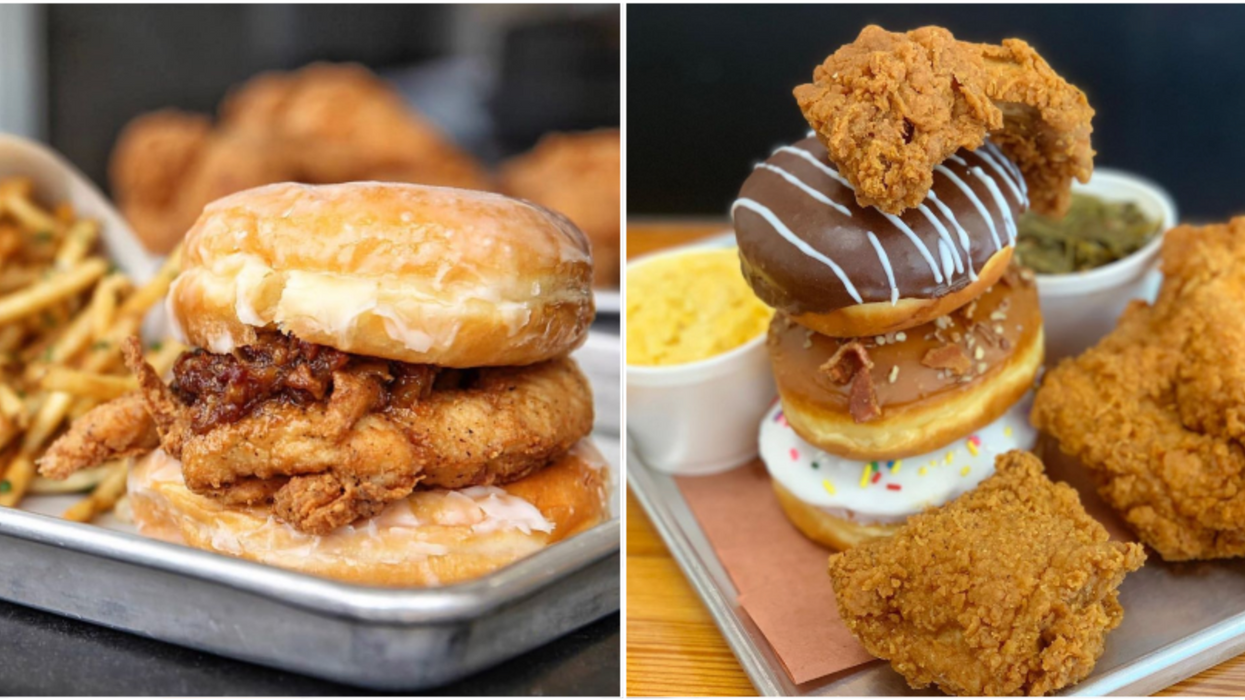 You Can Try A Mega Donut Chicken Sandwich At This Insane Spot In Houston