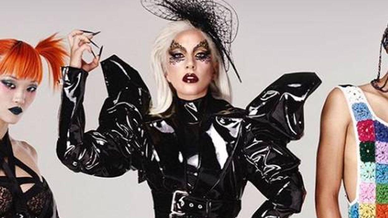 Lady Gaga annonce de façon éclatée le lancement de sa marque de maquillage