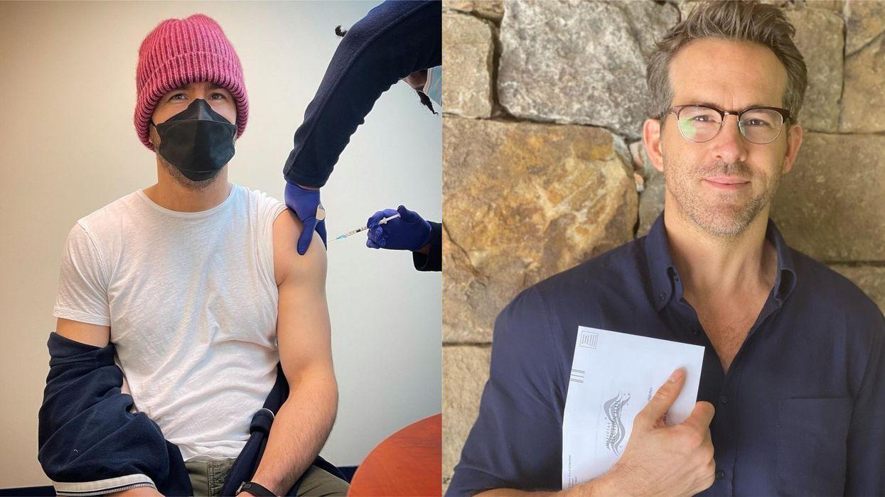 Ryan Reynolds Got A Dose Of A COVID-19 Vaccine