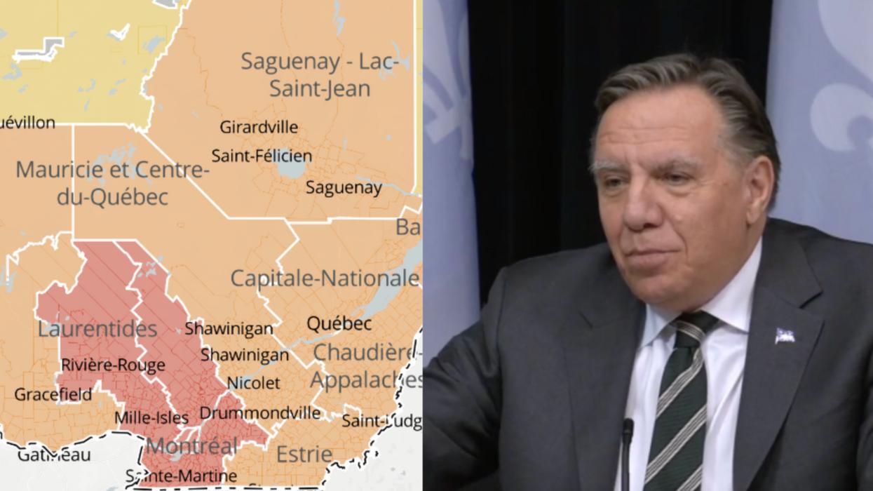 Mesures spéciales d'urgence: Les municipalités du Québec en confinement le 1er avril