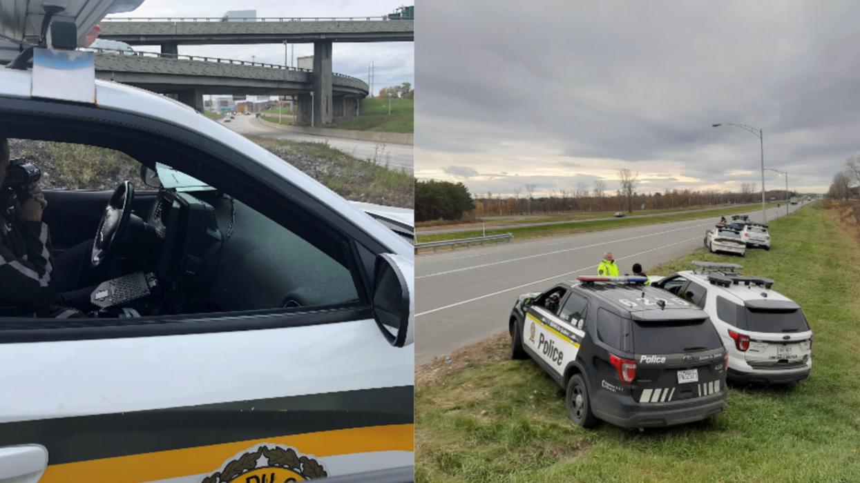 Tu risques de croiser plus de policiers sur les routes ce week-end au Québec