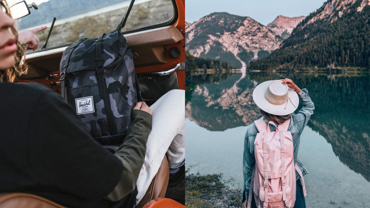 Herschel Is Having A 50% Off Sale Just In Time For Your Next Outdoor Adventure