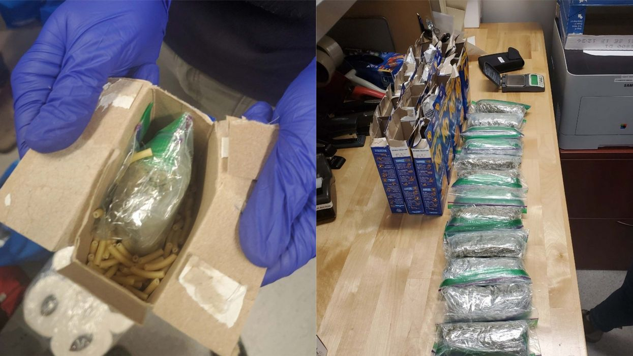 Kraft Dinner Boxes Were Used To Smuggle Weed In Manitoba