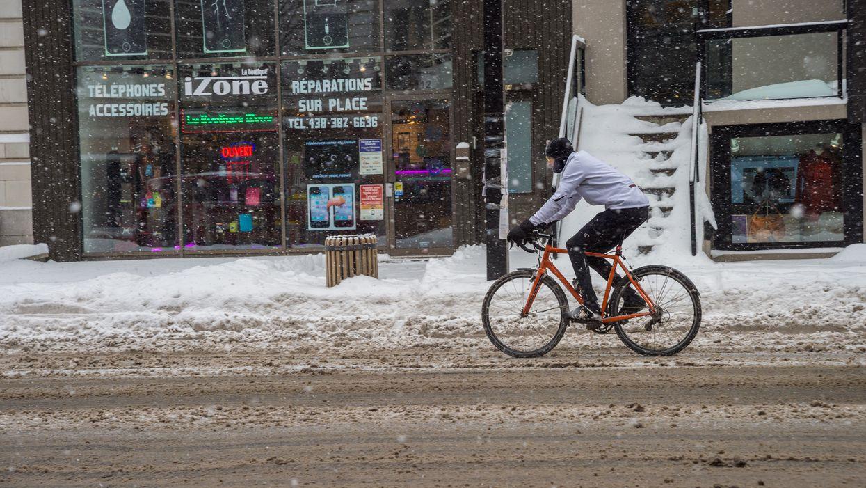 Il va neiger au Québec en avril