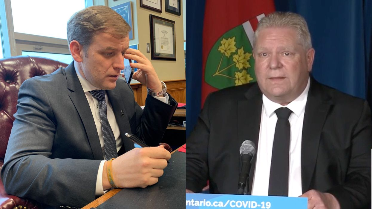 Doug Ford Asked For More COVID-19 Resources & Canada's Premiers Are Responding