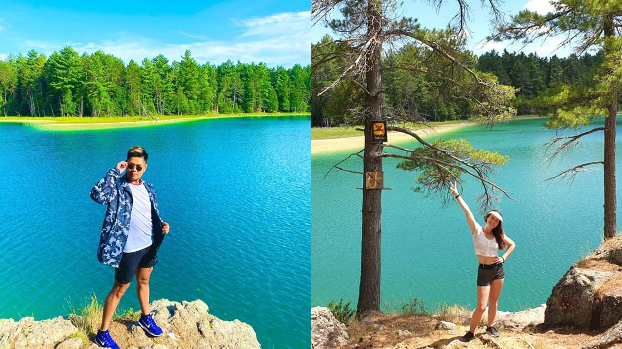 8 Ontario Hiking Trails To Lakes In Every Shade Of Blue