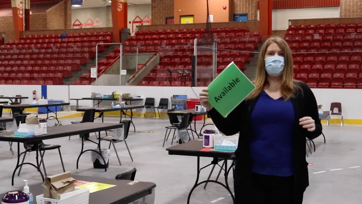 COVID-19 Vaccine Appointment Walk-Thru Video Was Revealed By One Ontario Region