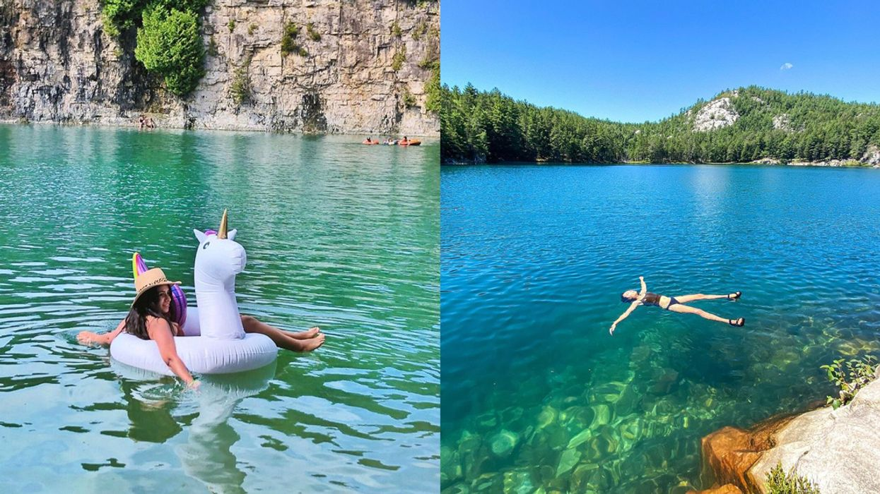 Secret Ontario Swimming Holes That Are A Blue-Water Paradise