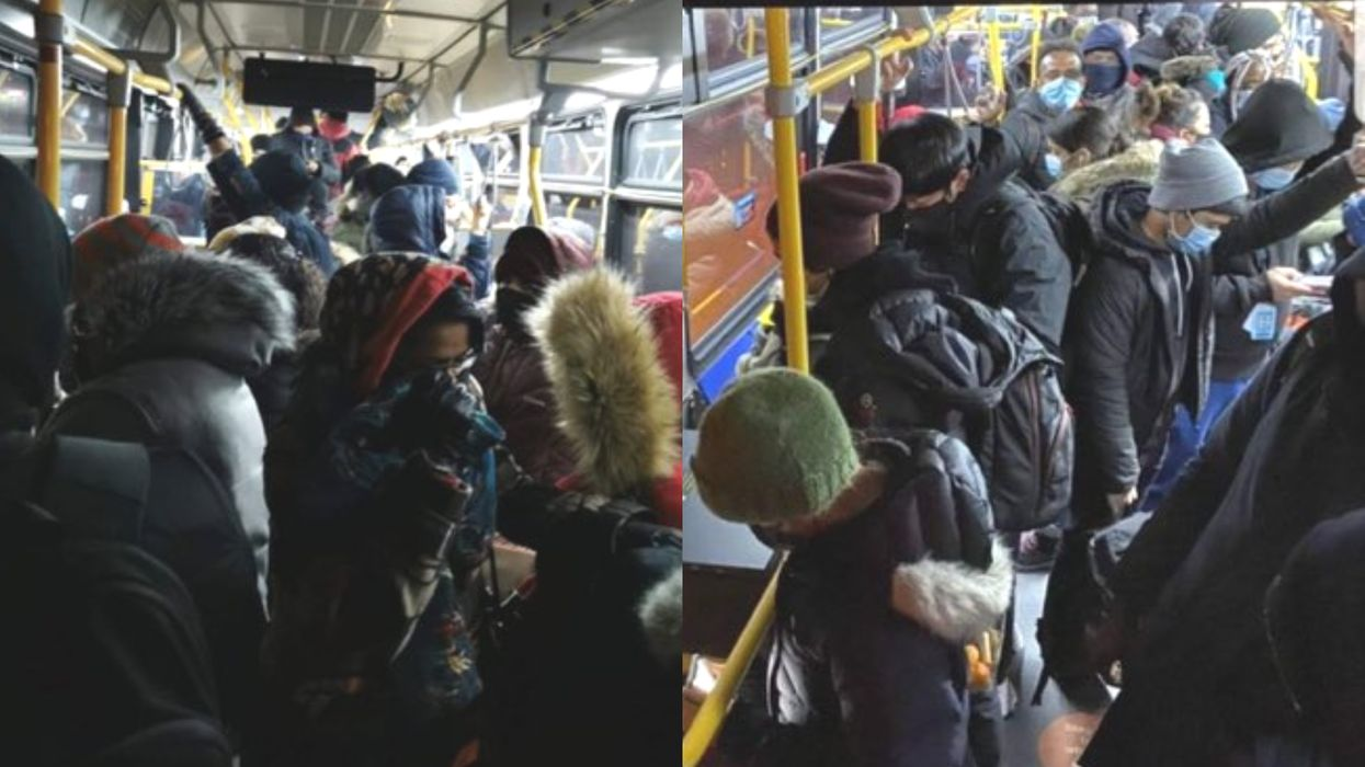 TTC Crowding Still Seems To Be A Problem Despite The Stay-At-Home (PHOTOS)