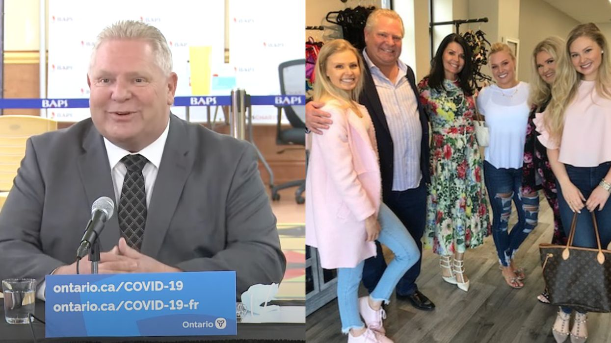 Doug Ford's Haircut Was Done With Dog Clippers By His Daughter