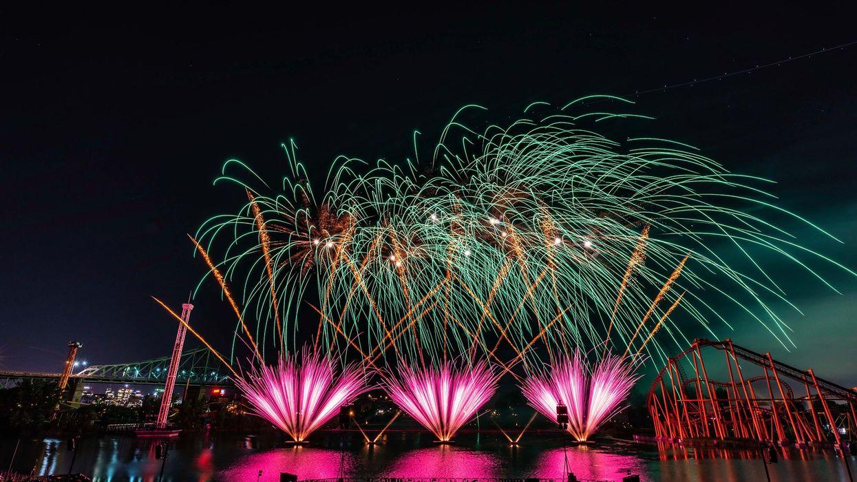 La Ronde organise des feux d'artifice pour l'été 2021
