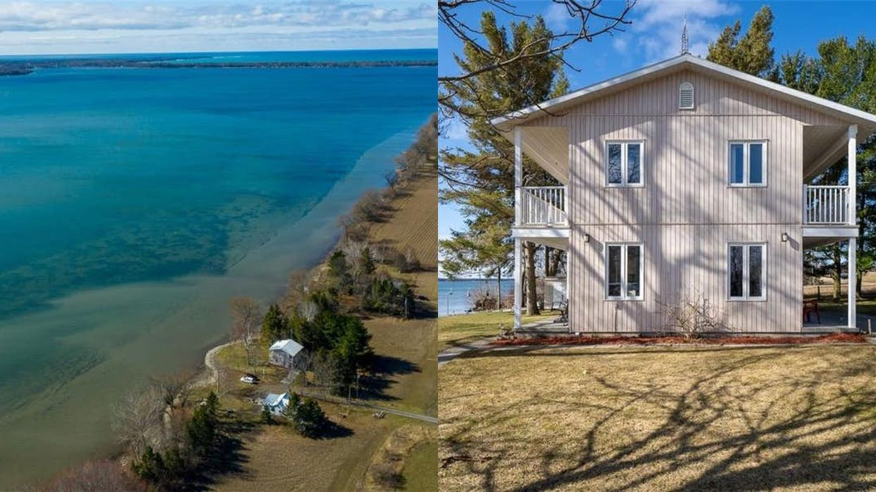 This Ontario Home Has Panoramic Views Of A Turquoise Lake & Costs Less Than City Living