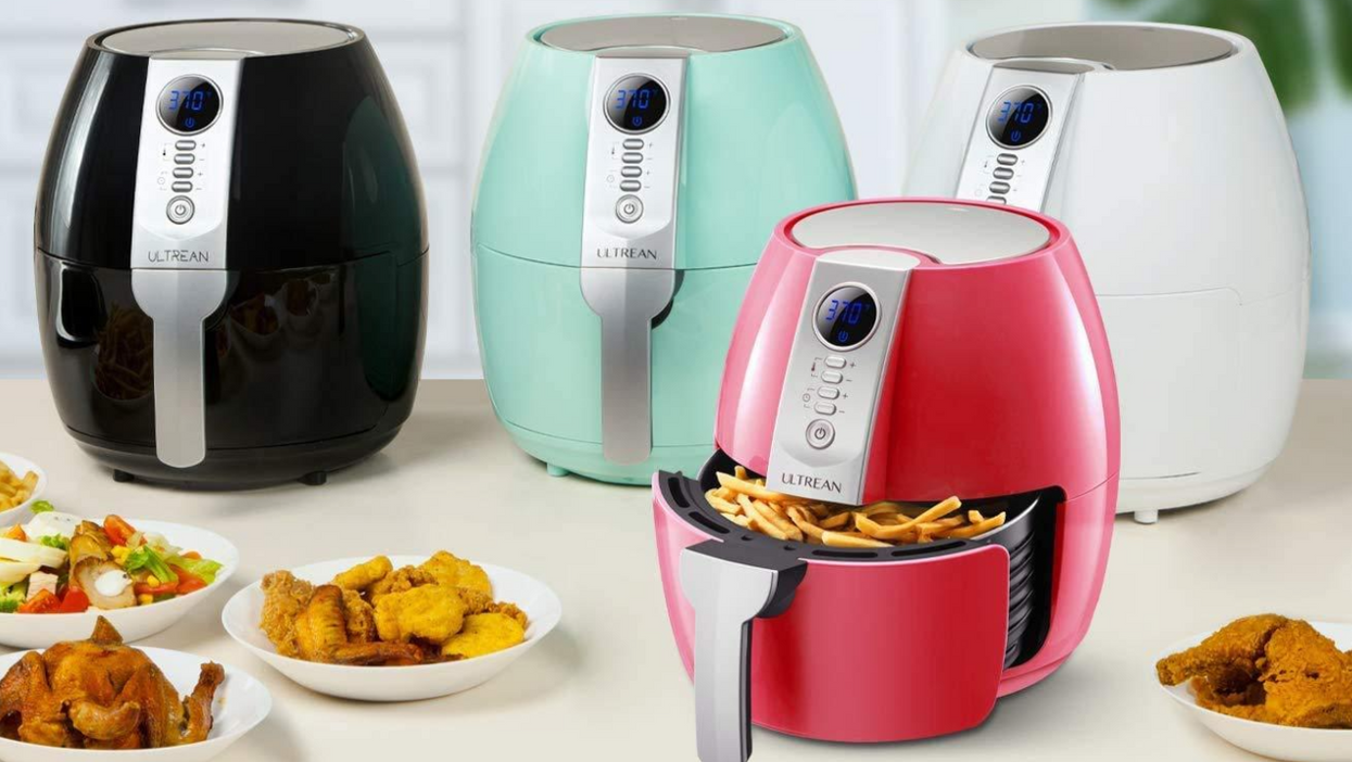 This Amazon Air Fryer Has No Business Being This Damn Cute