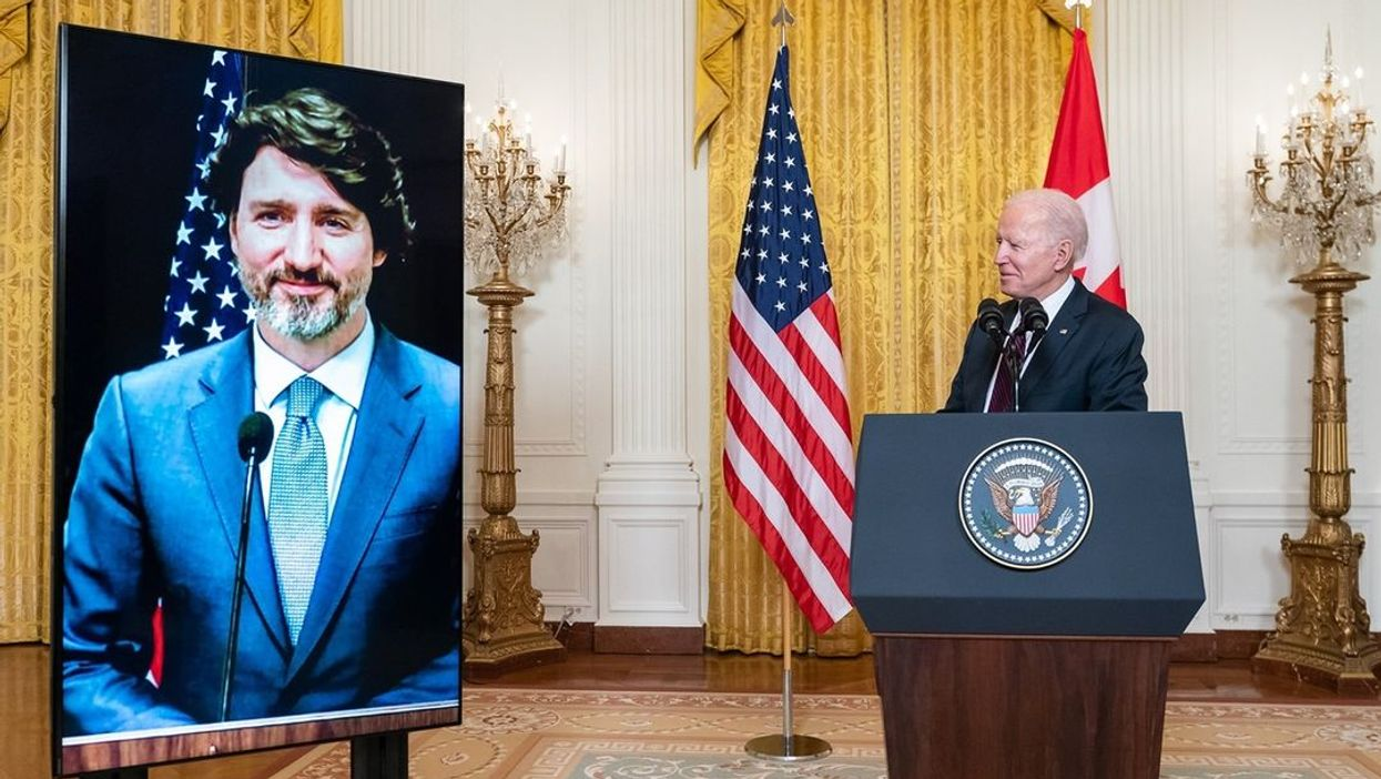 Canada Getting Vaccines From US Could Happen Again Says Biden