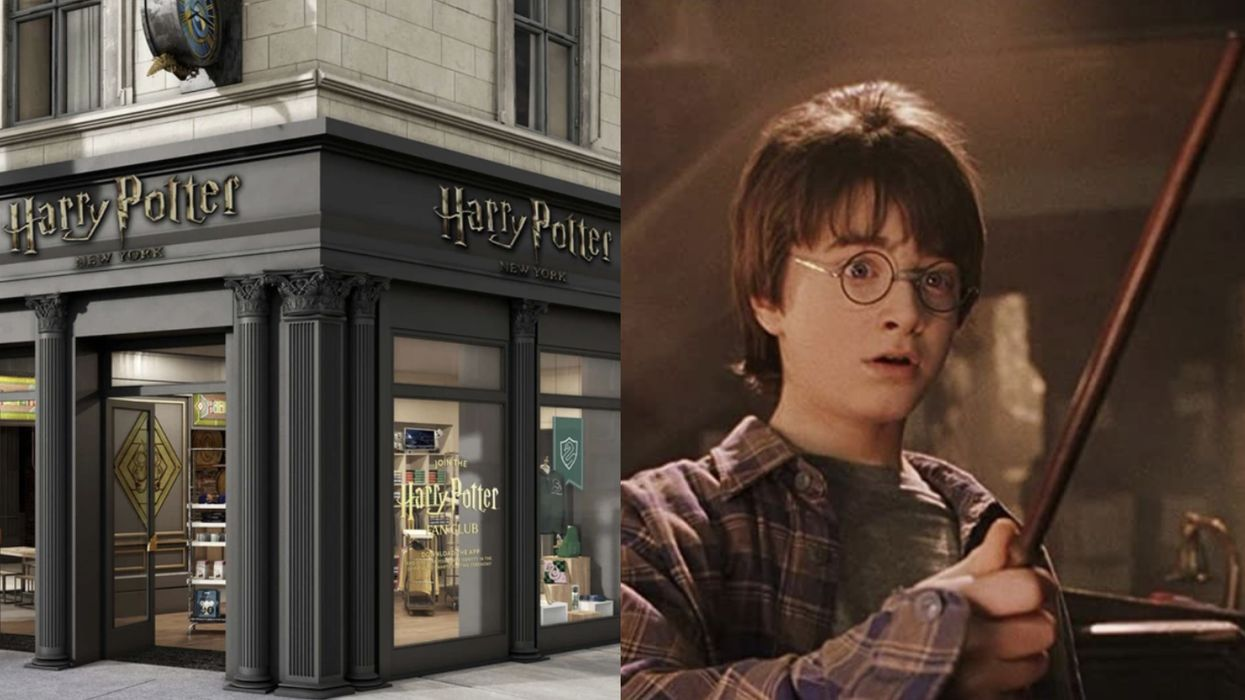 A Magical 'Harry Potter' Shop Is Coming To New York This Summer
