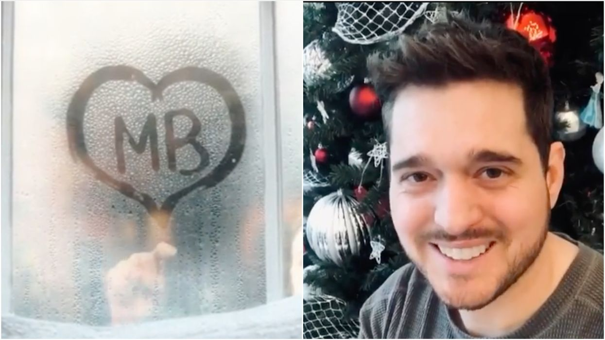 Michael Bublé's New Holiday Playlist Means It's Officially Christmas Right Now