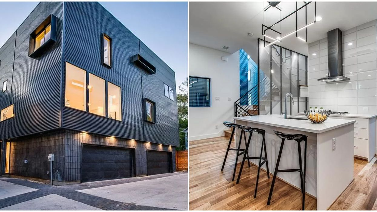 This Dallas Home Looks Like Something Out Of The Year 3000 And It Just Hit The Market