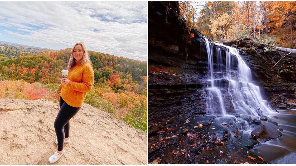 A Stunning Waterfall Hike Near Toronto Will Take You To The Edge Of The World
