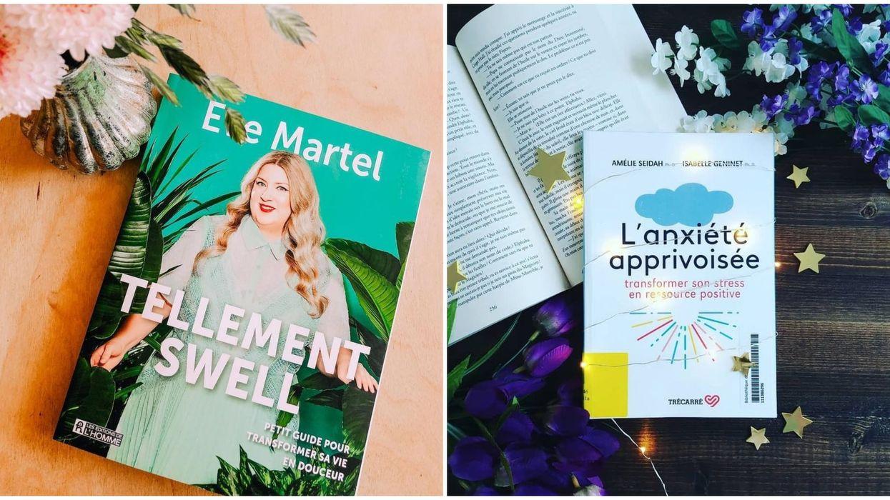 8 livres québécois à lire absolument pour combattre ta foutue anxiété