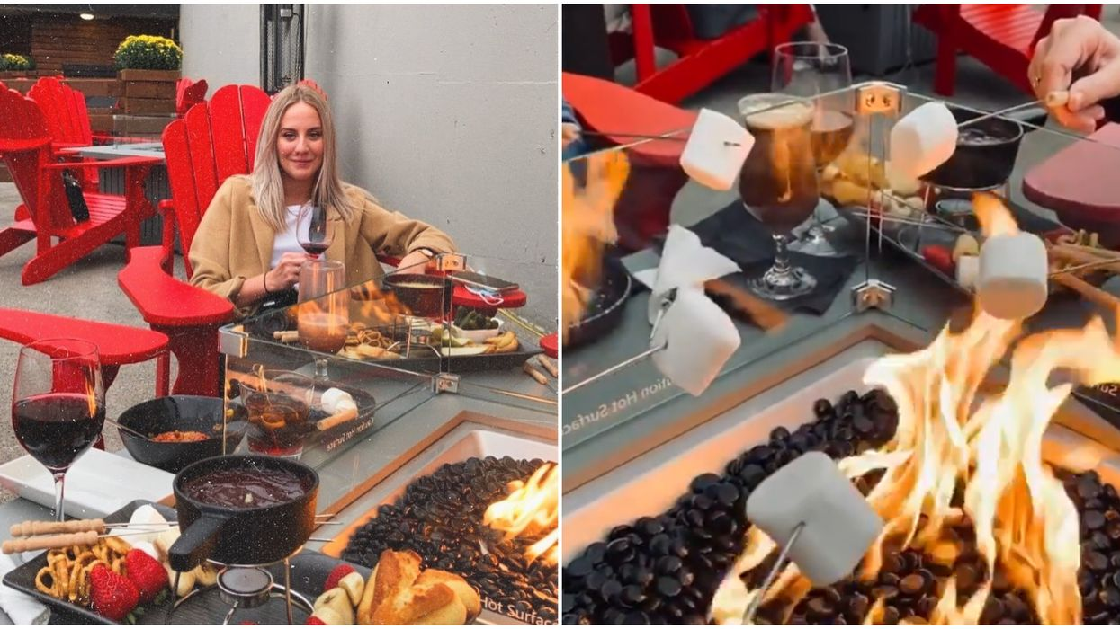 You Can Make Gooey S'mores Over Your Own Fire Pit At This Cozy Ontario Patio