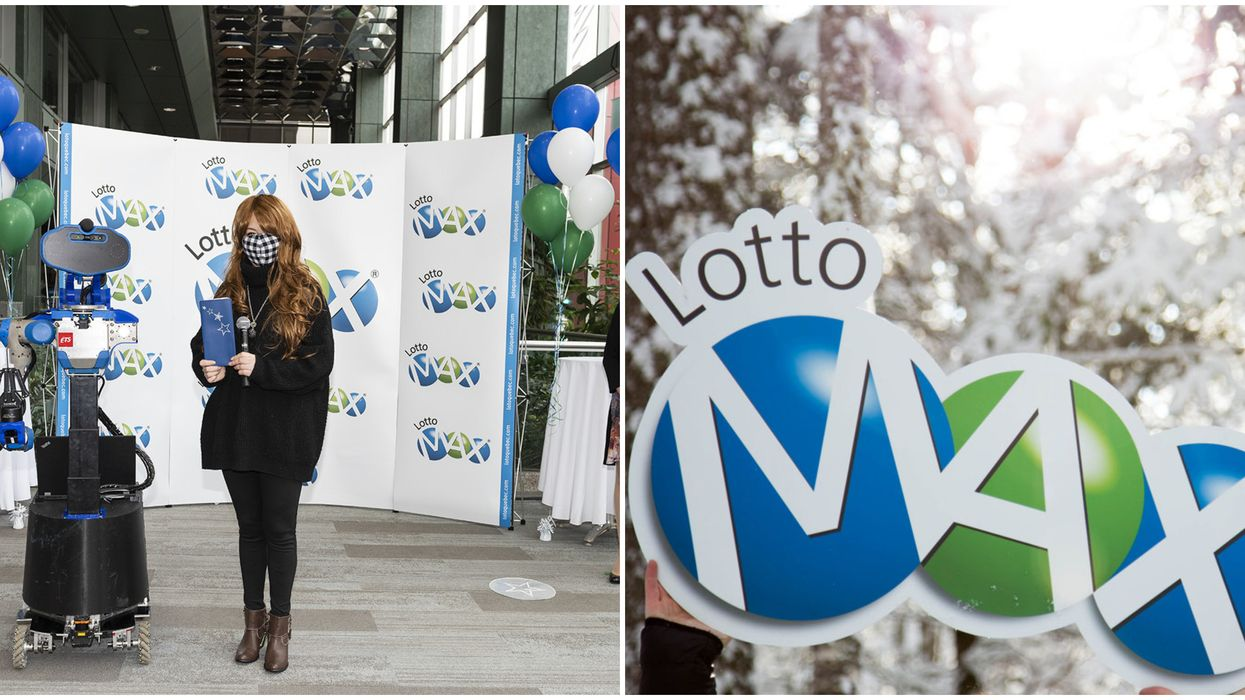 Lotto Max Winner Of $70 Million Hit The Jackpot On Her First Time Playing The Lottery
