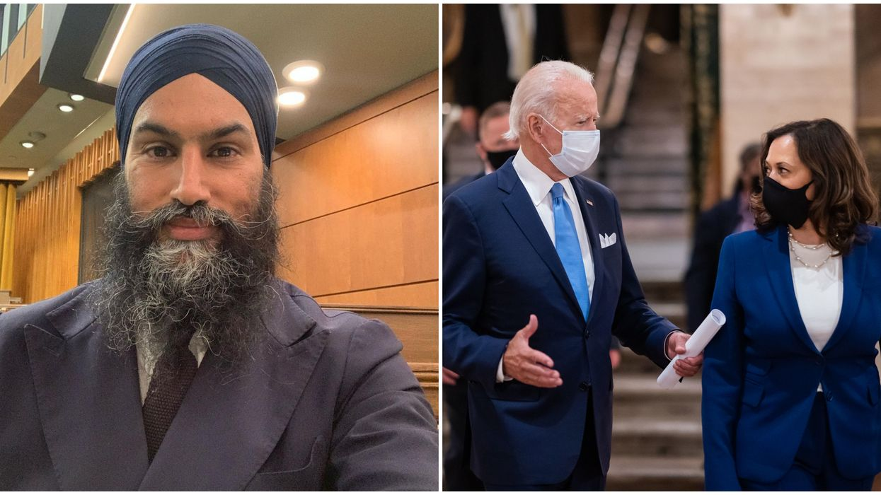 Jagmeet Singh Thanked Kamala Harris As She Makes History Being Called Vice President-Elect