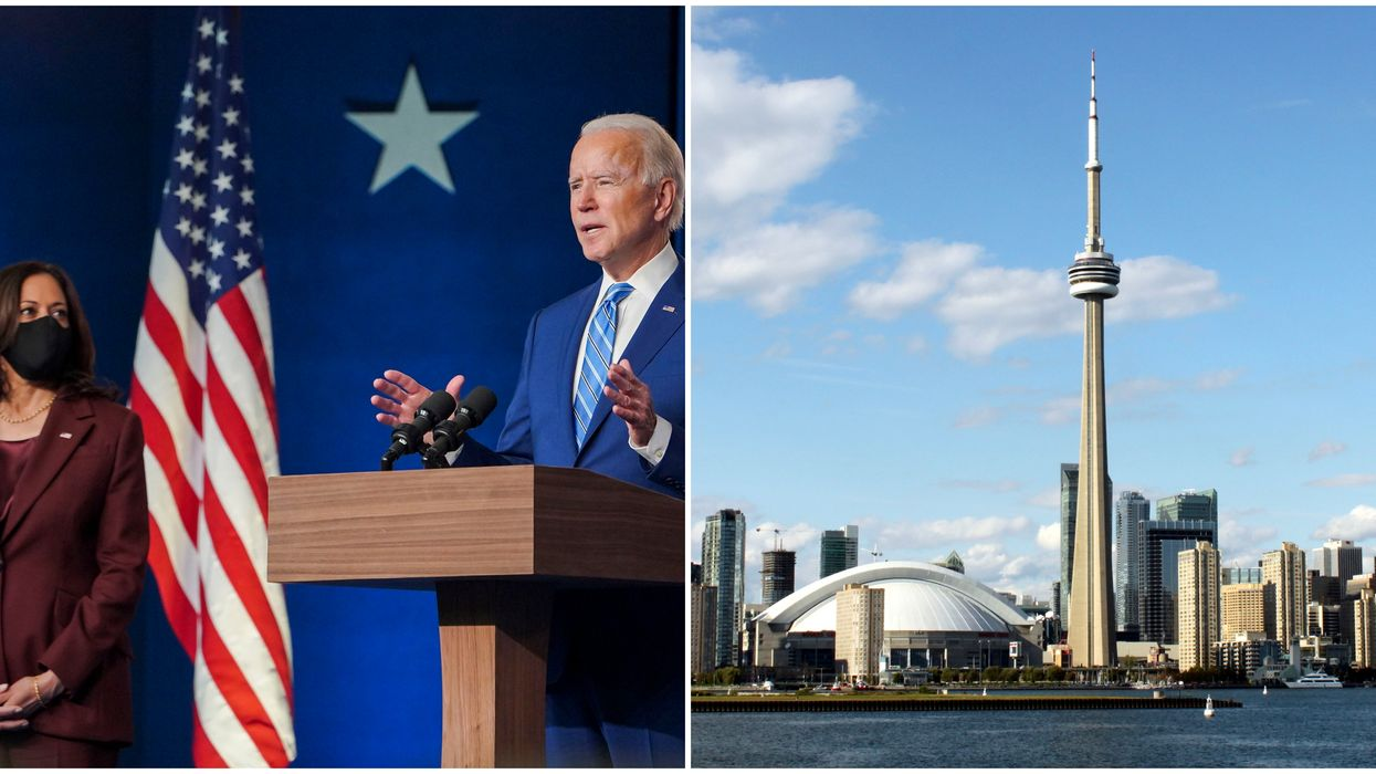 US Election: Toronto Is Reacting To Joe Biden Being Called The New President