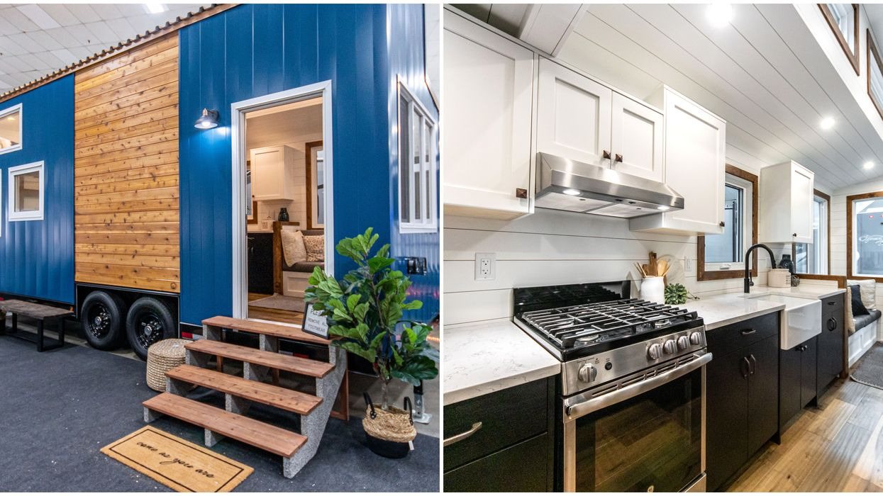 Tiny House In Alberta Is Less Than $91,000 & You Can Take It On The Road