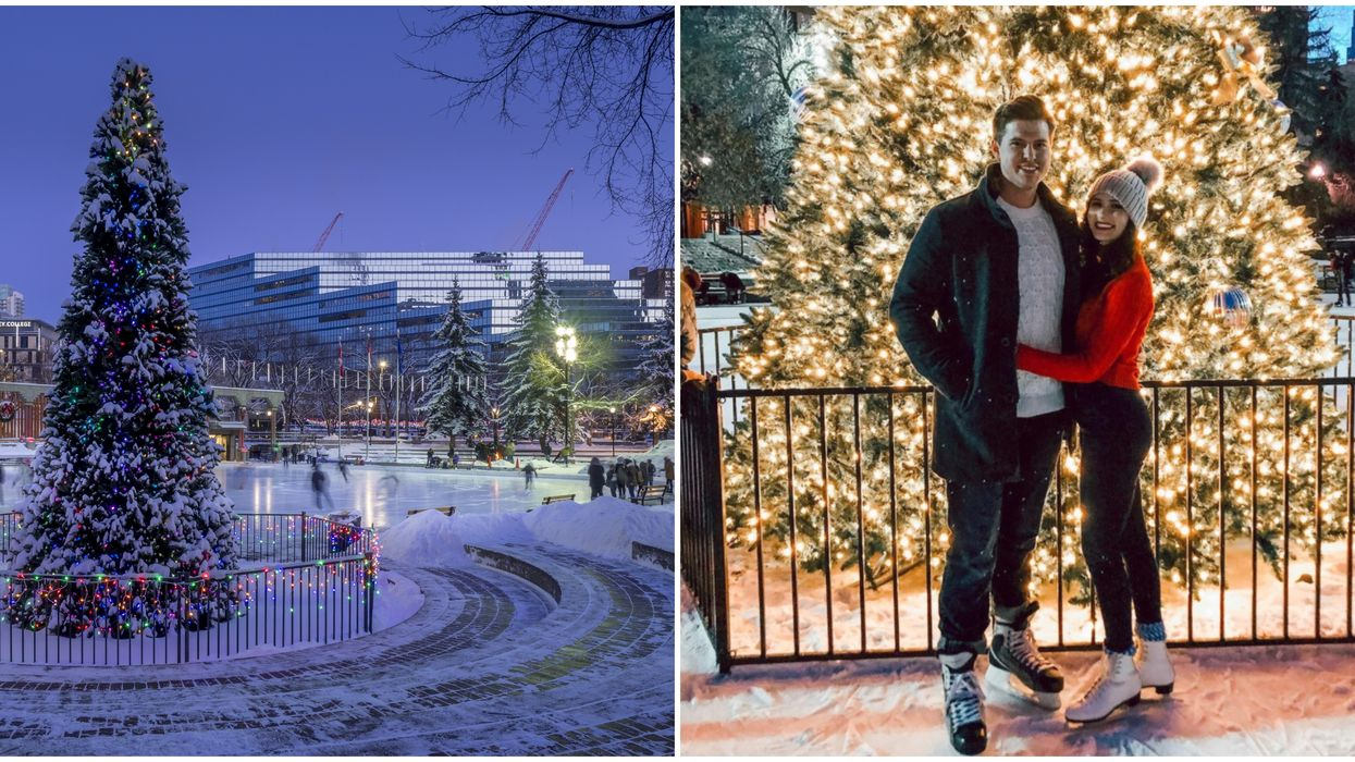 Olympic Plaza Is Calgary Has Its Own Version Of Rockefeller Center In The Winter