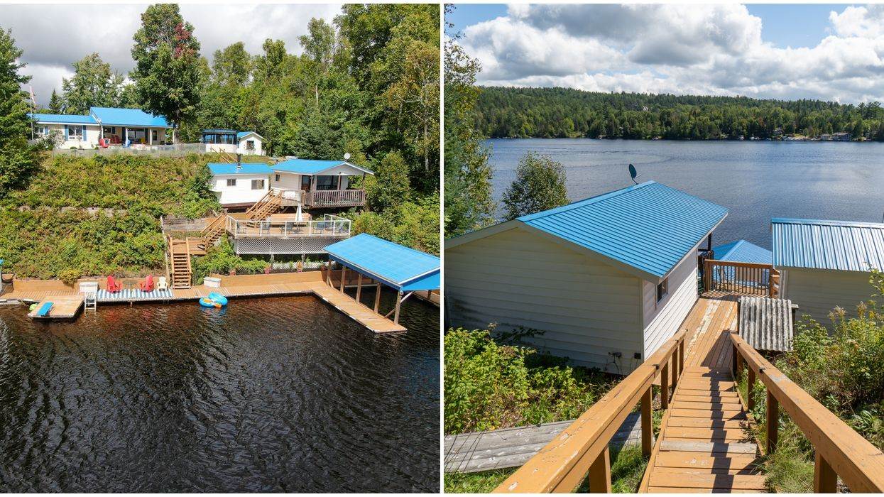 This Massive Lakefront Property For Under $500K Has Room For All Your BFFs