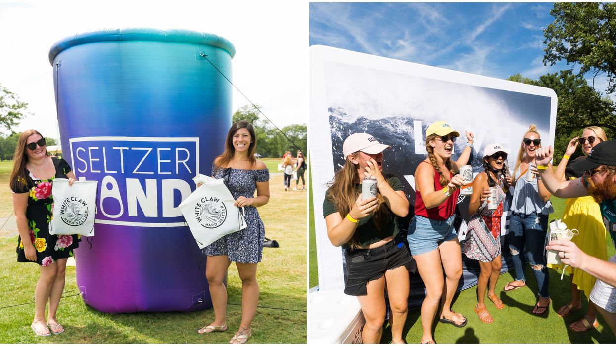 A Seltzer-Lover's Paradise Is Coming To Dallas For The First Time This Month