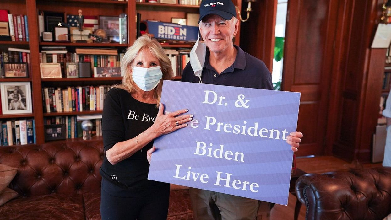Joe Biden's New Hat Has The Ultimate 'Make America Great Again' Clap Back
