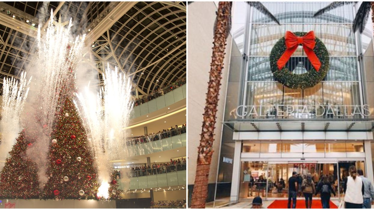 The Nation's Tallest Indoor Christmas Tree Is Actually In Dallas